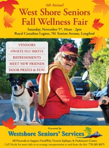 2016 West Shore Seniors Fall Wellness Poster
